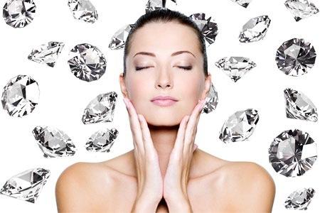 Peeling facial de diamante con Ozonoterapia