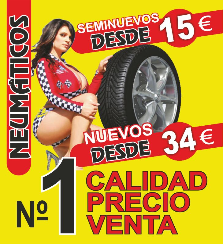 Neumáticos económicos Elche