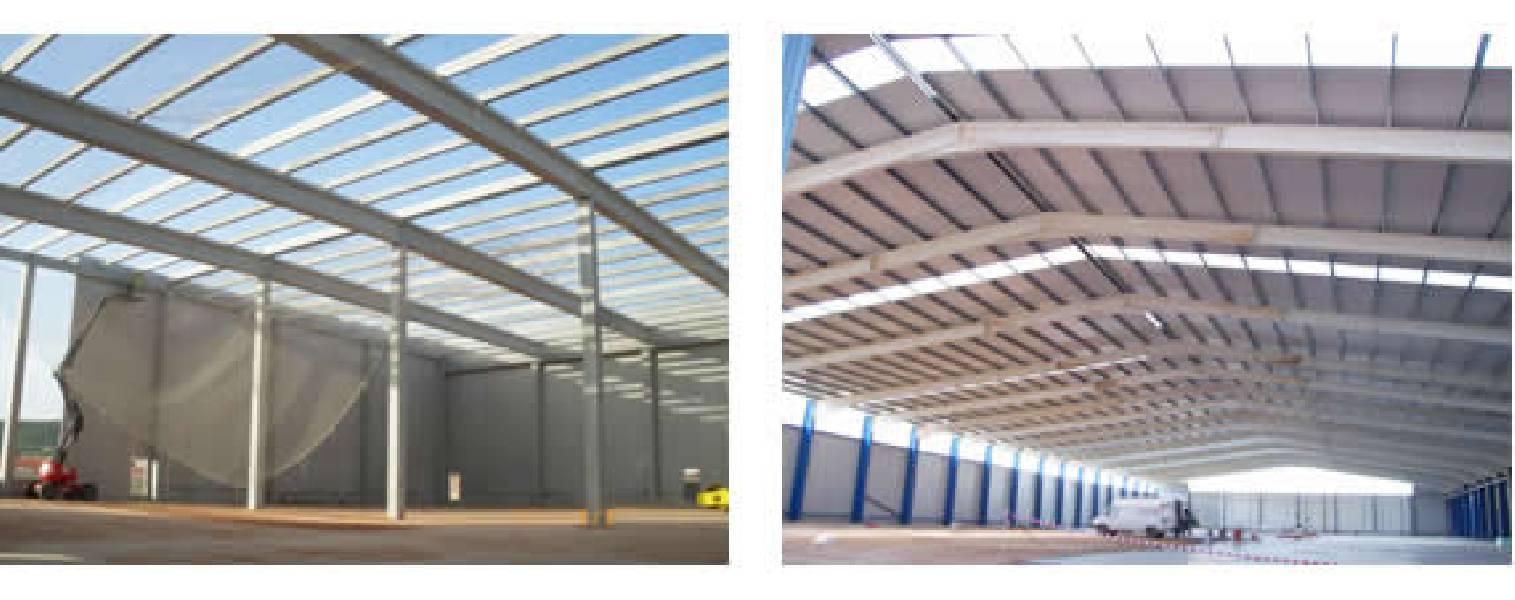 Montadores de cubiertas panelya cubiertas y fachadas - Estructuras metalicas murcia ...