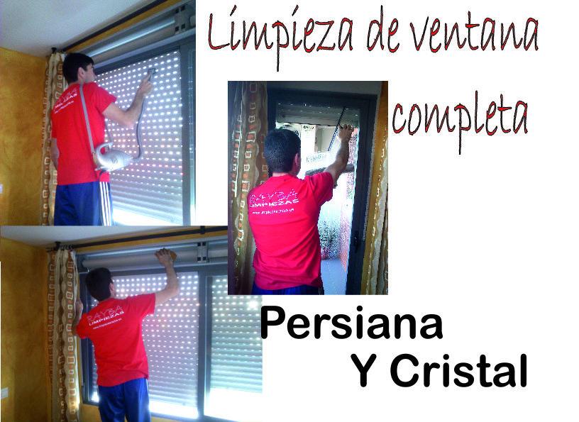 Limpieza de persianas y cristales a domicilio en oferta for Limpieza de cristales a domicilio