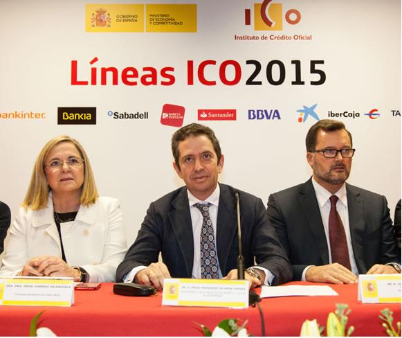linea creditos ICO 2015