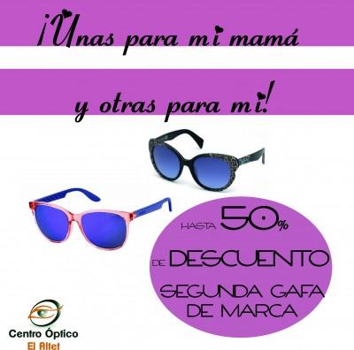 Dia de la madre oferta gafas de marca