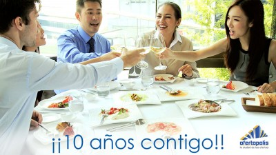 comida ofertopolis 10 aniversario