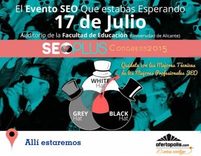 Congreso SEO PLUS Alicante 2015 - ofertopolis