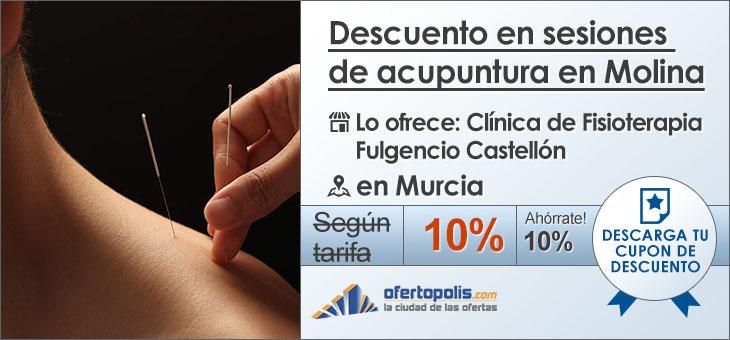 Descuento en sesiones de acupuntura en Molina