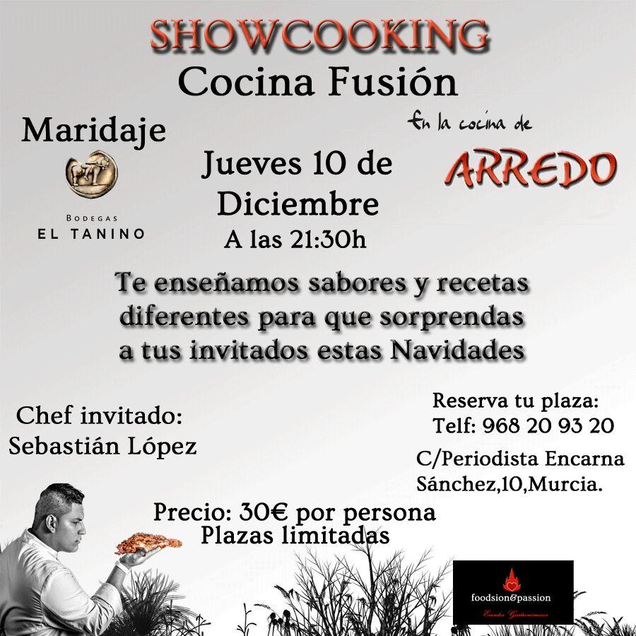Showcooking cocina fusion