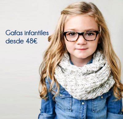 Gafas infantiles en Cartagena Óptica García Cervantes