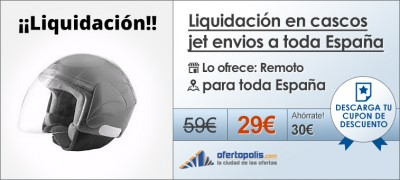 cascos liquidacion