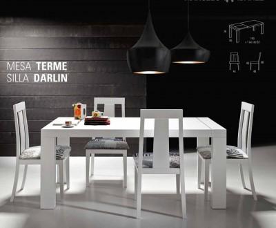 sillas mesas