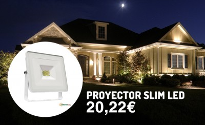 proyector led blanco