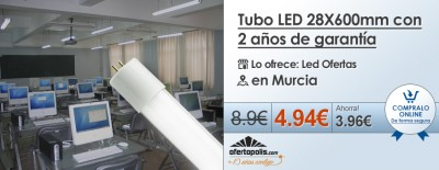 tubo led cupon