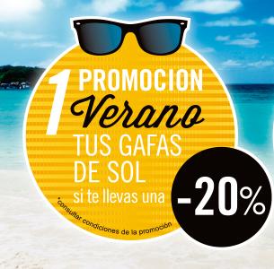 Promoción en gafas de sol en Murcia
